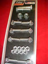 Harley,FL,FLH, 58-80 rear fender mouting bolt kit, oem finish Cad plated