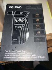Veipao Breathalyzer Professional Alcohol Tester USB Portable Digital LCD