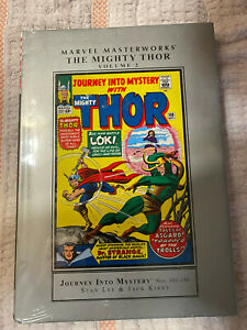 Marvel Masterworks Thor Volumes 2 hardcover new sealed rare 101-110