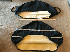 English Horse Saddle Covers (2) Carrier Storage Travel Bags Padded New