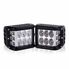 DJI 4X4 LED Pods 2Pcs 4'' 90W CREE LED Cubes Dually Side Shooter Full Reflect...