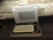 Bang & Olufsen Beoplay A2 Wireless Portable Bluetooth Speaker - Natural / Gold