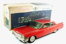 """1962 Cadillac Deville 4-Door Hardtop 22"""" Car With Original Box By Yonezawa"""