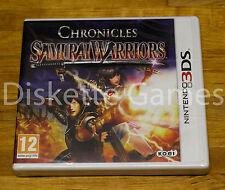 SAMURAI WARRIORS CHRONICLES - NINTENDO 3DS - PAL ESPAÑA - NUEVO