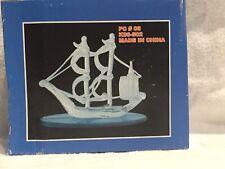 Blown Glass Pirate Ship