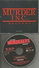 THE MURDERERS Vita Vita w/ RARE RADIO EDIT & INSTRUMENTAL PROMO DJ CD Single