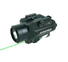 Aimpro Green Laser Sight with 220 Lumen Led Flashlight for Handgun or Rifle