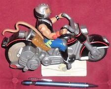 1 MODEL FIGURE VINTAGE 1993 CARTOON BIKER MICE-MOTO HARLEY CYCLE STERZO/THROTTLE