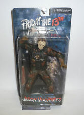 "ACTION FIGURE NECA JASON VOORHEES FRIDAY THE 13TH 8"" BLOOD CULT CLASSICS NEW"