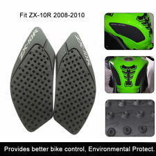 KAWASAKI ZX10R Motorcycle Tank Traction Gas Pad Knee Fuel Side Grips 2008-2010
