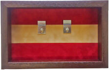 Large Cheshire Regiment Medal Display Case