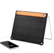 NEW! BioLite Solar Panel 5+ Mobile Solar Panel Charger w/ 2200 mAh Battery