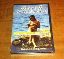 Brand NEW! Birth As We Know It (2006, DVD) Educational Edition