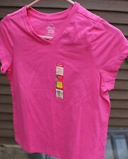 Girl's Pink T-Shirt by Faded Glory; Size:  XL