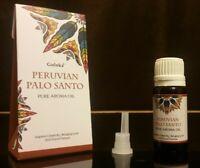 Goloka Pure Aroma Oil-Peruvian Palo Santo