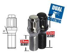Wheel Lug Bolt-Spline Lug Bolt Acorn Seat 6 Sided 14mm 1.25 x 24mm.