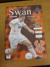 29/10/2002 Swansea City v Kidderminster Harriers  (Excellent Condition)