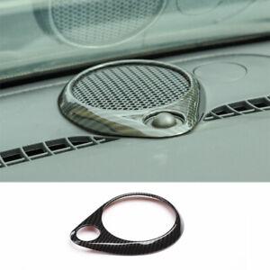 For Dodge Durango 2011-2021 ABS Carbon Fiber Console Dashboard Horn Cover Trim
