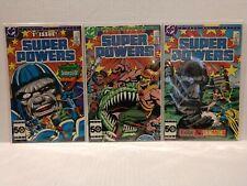 Super Powers Mini-Series #1,2,3 (Sep 1985, DC) Higher Grade