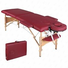 84''L Fold Portable Massage Table Facial Spa Beauty Bed Tattoo with Carry Case