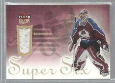 2005-06 Ultra Super Six Jerseys #SSJPR1 Patrick Roy (ref37231)