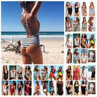 Women's One Piece Monokini Push Up Padded Bikini Swimsuit Swimwear Bathing Y370