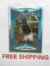 2008 Bowman Chrome Refractor Serial #D /500 Card #BCP229 Hector Gomez Rockies