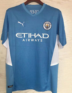 2021/2022 New Season Manchester City Home Shirt Football Jersey for Adult