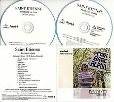 SAINT ETIENNE Fox Base Alpha Deluxe Edition UK 27-trk watermarked promo test CD
