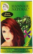 Polvo De Henna Para El Cabello 100% Puro Natural Acondicionador Hannah Natural