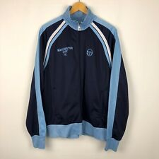 Rare Manchester City football soccer jacket MCFC Sergio Tacchini boys XL?