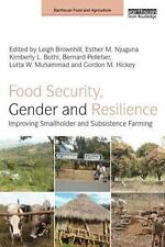 Food Security, Gender and Resilience : Improving Smallholder and Subsistence ...