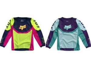 Fox Racing 180 Girl's Yoke Jersey Kid's 3-5 Years Old PeeWee MX/ATV Youth '21