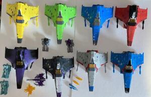 Transformers Siege Starscream Thundercracker Skywarp RedWing Hotlink Rainmakers