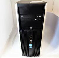 HP 8300 Elite MT i5-3470 3.2GHz 4GB RAM 500GB HDD Windows 7 Professional