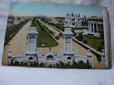 St. Louis Mo Missouri Kingsburg Place early 1900's Postcard