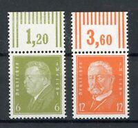 Deutsches Reich MiNr. 465-66 W OR postfrisch MNH (O636