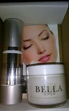 DUO SET: Bella Gold Serum 1oz Age Defying Formula & 1oz Revitalizing moisturizer