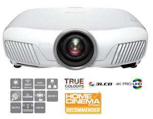 Epson EH-TW7400 4K Projector WHATHIFI 5* HDR ProUHD 3D Motorised Optics HDR