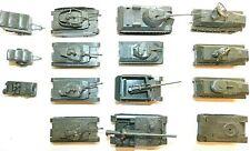 DBGM of Austria 1980s, 1/72 Scale Plastic, WWII Tanks & Vehicles, 15 Piece Lot