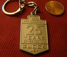 Glock Perfection 25th Anniversary Key Ring Chain 1985-2011