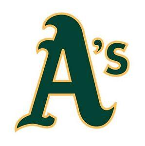 Oakland Athletics Oakland A/'s Sticker Decal S204 Baseball YOU CHOOSE SIZE