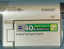 Sony Dcr - Hc52 MiniDv Handycam Camcorder 40x Optical Zoom + Battery Charger -