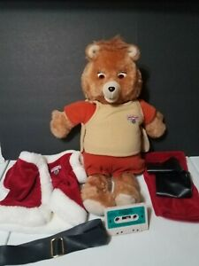 Vintage Teddy Ruxpin Doll 1985 For Parts or Repair
