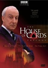 NEW - House of Cards Trilogy (House of Cards / To Play the King / The Final Cut)
