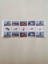 2009 - Australia - Corrugated Landscapes Gutter Strip MNH