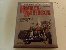 Harley Davidson Motorräder 1936-92 Big Twins * Super Glides * Sportmodelle