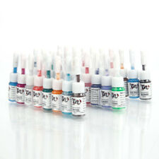 28Pcs Pro Tattoo Inks Pigment Set 5ML 28 Color Tattoo Machine Ink For Sale
