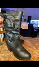 Shoes for women Black boots Size 10M