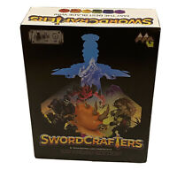 Swordcrafters Expanded Edition Adams Apple Games Rare Unpunched US Seller